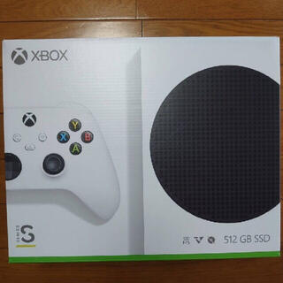 エックスボックス(Xbox)のxbox series s(家庭用ゲーム機本体)