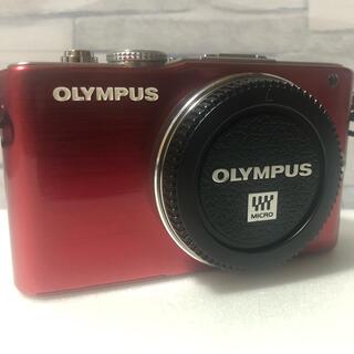 OLYMPUS - 完動品❤️バッテリー付❤️ OLYMPUS E-PL3