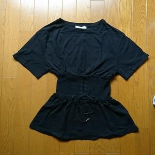 ローリーズファーム(LOWRYS FARM)のローリーズファーム コルセット風Tシャツ(Tシャツ(半袖/袖なし))