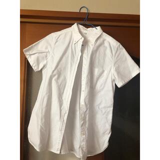 MUJI (無印良品) - 無印良品 シャツ 半袖 白