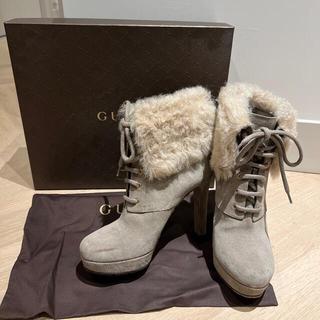 グッチ(Gucci)のGUCCI ブーツ 24cm(ブーツ)