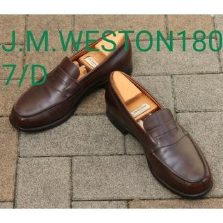 J.M. WESTON - 【美品】J.M.WESTON180シグネチャーローファー7/D