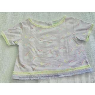 フェフェ(fafa)のfafa ユニコーンTシャツ150cm(Tシャツ/カットソー)