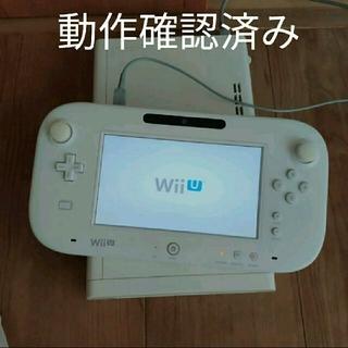ウィーユー(Wii U)の🌟wiiu 本体ゲームパッドセット(家庭用ゲーム機本体)