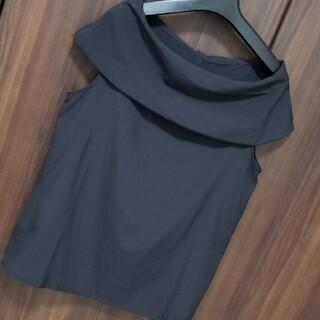 ノーブル(Noble)のノーブル noble 2way  ブラウス ブラック スカート パンツ(シャツ/ブラウス(半袖/袖なし))