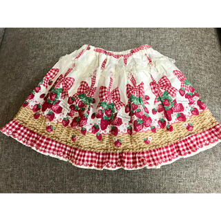 Shirley Temple - シャーリーテンプル いちごバスケット スカート