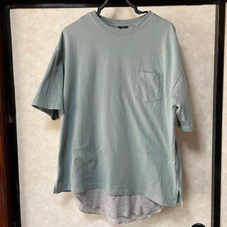 フリークスストア(FREAK'S STORE)のフリークスストア 半袖Tシャツ&タンクトップ グリーン M(Tシャツ/カットソー(半袖/袖なし))