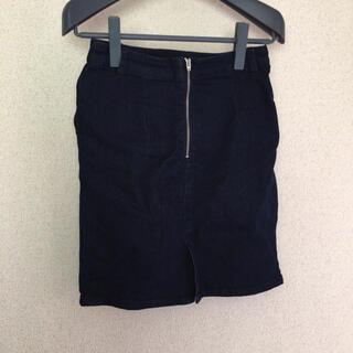 ローリーズファーム(LOWRYS FARM)のローリーズファーム デニムスカート(ひざ丈スカート)