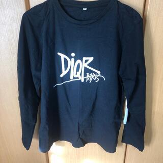 クリスチャンディオール(Christian Dior)の長袖Tシャツ DIOR風(Tシャツ/カットソー(七分/長袖))