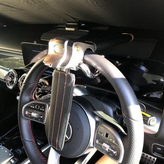 ハンドルロック 自動車 盗難防止 セキュリティ ステアリング