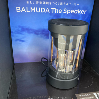 BALMUDA - BALMUDA THE Speaker  M01A-BK 新品未使用