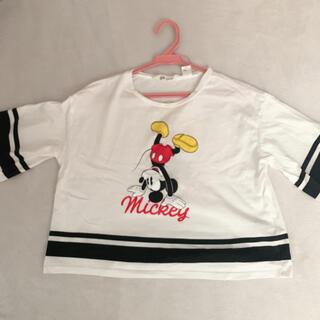 エイチアンドエム(H&M)のショート丈 Tシャツ(Tシャツ(半袖/袖なし))