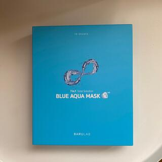 BARULAB ブルー アクアマスク(10枚)(パック/フェイスマスク)