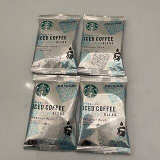 Starbucks Coffee - Starbucks ORIGAMI アイスコーヒーブレンド 4p