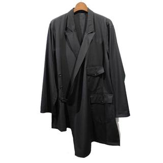 Yohji Yamamoto - 17SS yohji yamamoto homme シワギャバ袈裟コート