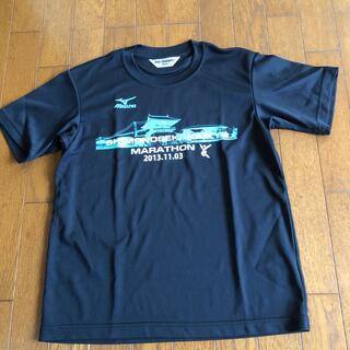 ミズノ(MIZUNO)のミズノ マラソンTシャツ(トレーニング用品)