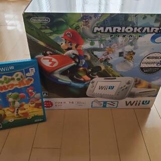 ウィーユー(Wii U)のWII U32GBマリオカート8セット(家庭用ゲーム機本体)