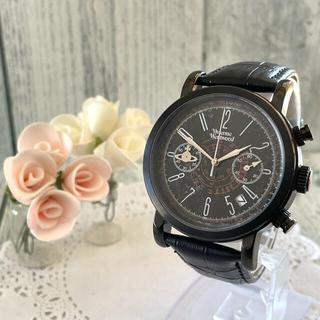 ヴィヴィアンウエストウッド(Vivienne Westwood)の【動作OK】vivienne 腕時計 ダメージ スクイグル ブラック(腕時計(アナログ))