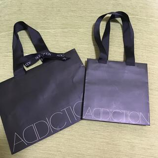 アディクション(ADDICTION)のアディクション袋2点(ショップ袋)