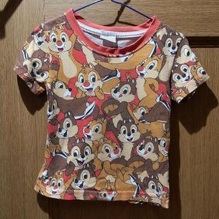 チップ&デール - ディズニー チップとデールのTシャツ サイズ100 <113>