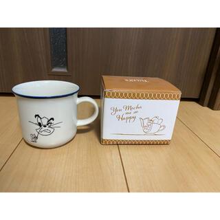 タリーズコーヒー(TULLY'S COFFEE)の新品 タリーズコーヒー 限定品 トムとジェリーフェイスマグ tally's(グラス/カップ)