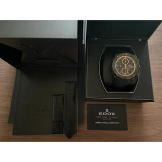 エドックス(EDOX)のエドックス EDOX クロノオフショア 500本限定(腕時計(アナログ))
