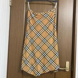 バーバリー(BURBERRY)のバーバリーセミフレアースカートサイズ40(ロングスカート)