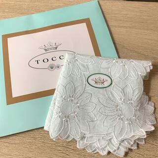 TOCCA - 新品未使用 TOCCA トッカ 刺繍ハンカチ
