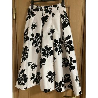 ノエラ(Noela)のノエラ ビックフラワーフロッキースカート(ひざ丈スカート)