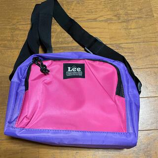 リー(Lee)の美品♡Lee ショルダーバック ピンク×パープルカラー(ショルダーバッグ)