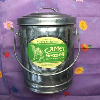 キャメル 缶灰皿 取っ手付き バケツバージョン? 未使用