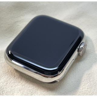 Apple - アップル Apple Watch5 40mm ステンレス ホワイトスポーツ GP