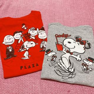 スヌーピー(SNOOPY)の非売品 Peanuts スヌーピー Tシャツ Xmas NOT FOR SALE(Tシャツ(半袖/袖なし))