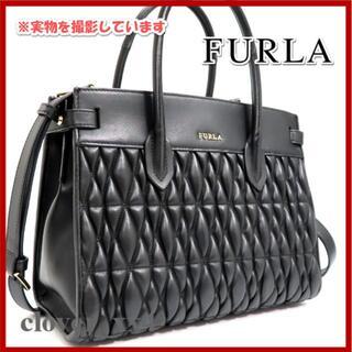 フルラ(Furla)のフルラ ショルダーバッグ コメタ ブラック FURLA バッグ 黒 2019年(ショルダーバッグ)