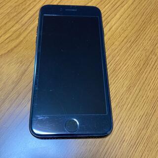 アイフォーン(iPhone)のiPhone7 128 ジェットブラック(携帯電話本体)