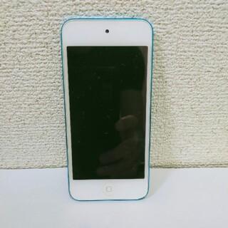 アイポッドタッチ(iPod touch)の【値下げ②】第5世代 iPod touch 32GB ブルー MD717J/A(ポータブルプレーヤー)