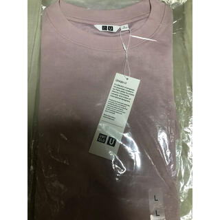 UNIQLO - UNIQLO U エアリズムコットンオーバーサイズTシャツL新品 2点セット