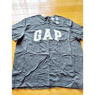 ギャップ(GAP)の新品 GAP Tシャツ グレー XLサイズ(Tシャツ/カットソー(半袖/袖なし))