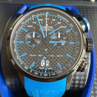 エドックス(EDOX)のエドックスEDOXクロノラリーリミテッドエディションザウバーF1限定555本(腕時計(アナログ))
