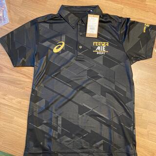 アシックス(asics)のasics  国体 ポロシャツ 黒 2021(その他)