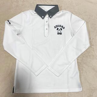 adidas - 長袖ポロシャツ、アディダスゴルフ、レディースMサイズ