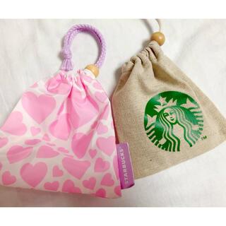 スターバックスコーヒー(Starbucks Coffee)のスターバックス ミニ巾着 単品購入も可(その他)