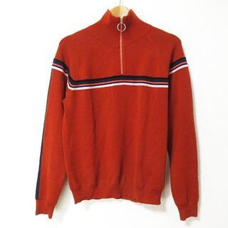 ポールスミス(Paul Smith)のPAUL SMITH 美品 ニット セーター 長袖 ハーフジップ ライン M(ニット/セーター)
