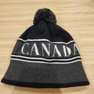 カナダグース(CANADA GOOSE)のCANADA GOOSE ビーニー ニットキャップ(ニット帽/ビーニー)