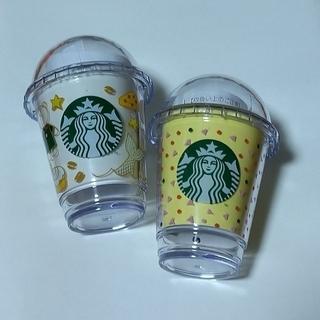 スターバックスコーヒー(Starbucks Coffee)のスターバックス ミニカップギフト  ミニカップ ベアリスタ  25周年 2つ(その他)