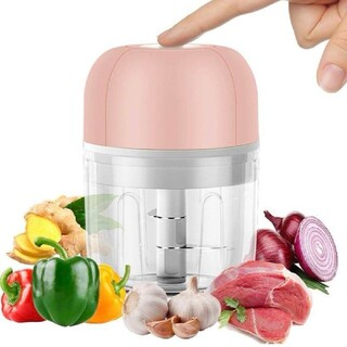 電動みじん切り器  ミニチョッパー フードプロセッサー 野菜カッター