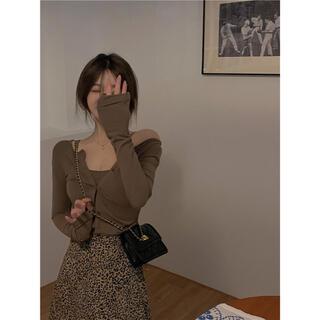 ディーホリック(dholic)の韓国ファッション カーディガンxキャミソール 2点セット(セット/コーデ)