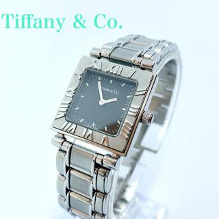 Tiffany & Co. - 美品 Tiffany ティファニー アトラス スクエア レディース 腕時計