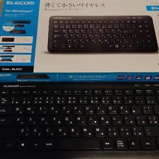 ELECOM - ELECOM Bluetooth ワイヤレス キーボード TK-FBM079BK