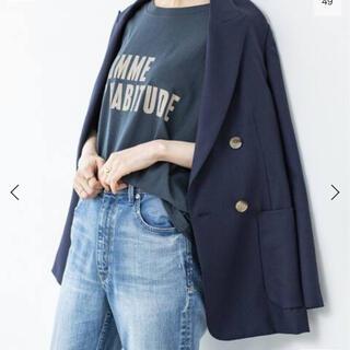 イエナ(IENA)のIENA ウールダブルブレストジャケット(テーラードジャケット)